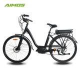 Topo e Bike 48V 500W Ebike Mulheres Electric City Aluguer Green poderoso 700c Ebike eléctrico