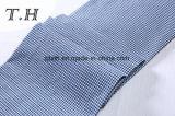 Голубая ткань софы картины решетки Linen