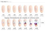 2088 лучших мелочь режущий копировать Swar Crystal Ab не исправление плоского стекла задней панели Rhinestone (FB-24)