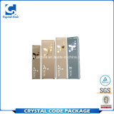 Zoll gedruckter faltender Haut-Sorgfalt-kosmetischer Papierkasten