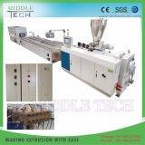 Plastik-PVC/PE/PP+ hölzerner (WPC Zusammensetzung) breiter hohler Tür-Vorstand/Panel-Strangpresßling-Hersteller
