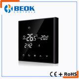 Черный термостат регулятора температуры Backlight с ежедневной программой