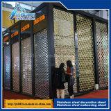 201 304 316 Plaque creuse en acier inoxydable Plaque décorative Fabricants Feuille de gaufrage en métal