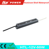 fonte de alimentação Htl do interruptor do transformador AC/DC do diodo emissor de luz de 12V 4A 50W
