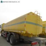 Carro del petróleo de HOWO 6X4 25000 litros del combustible diesel de carro de petrolero
