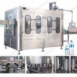 Installation de mise en bouteille automatique de l'eau minérale de vente chaude