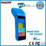 Slimme POS Terminals, Emv/pci- Certificaat, Beste Handbediende POS van het Scherm van de Aanraking van de Kwaliteit Terminal, GPRS, wi-FI, Bluetooth voor Betaling, Mj P2000