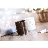 Fragranced kleine Kerze in farbigem Glas mit kundenspezifischem Firmenzeichen