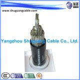 Обшитый PE Insulated/Cu Woven/PVC/мягко кабель компьютера/кабель аппаратуры