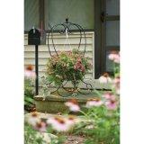 Cestino decorativo domestico della cremagliera del fiore del metallo
