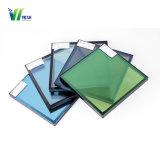 Segurança laminado temperado com isolamento de vidro na parede lateral reflectora