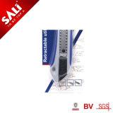 Berufseinziehbares Dienstmesser des befestigungsteil-Ausschnitt-Hilfsmittel ABS Griff-Sk5