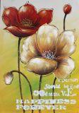 Pintura al óleo hecha a mano del estilo de la flor de la belleza