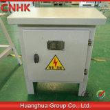 屋外の低電圧のケーブル配線ボックス