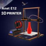 Stampante di plastica di Anet E12 3D per il prototipo veloce