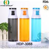 2017 поездок BPA пластика спорта питьевой расширительного бачка (ПВР-3068)