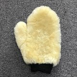 Wool wash-out memo, Sheepskin Gloves, Synthetic Lambskin Car which-hung memo