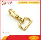 Gancho de leva rápido de los accesorios de los bolsos de las ventas al por mayor con color del oro del metal