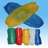 Coperchio a gettare libero & blu del manicotto del PE, manicotti del braccio di trasformazione dei prodotti alimentari