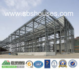 Entrepôt préfabriqué démontable de structure métallique
