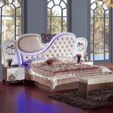Классицистическая мебель спальни с королем Размером Кроватью (6619)