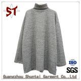 女性の簡単な立場カラー余暇のセーター