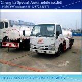 고품질 일본 Isuzu 기름 연료 유조 트럭