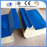 Painéis metálicos do tipo sanduíche de poliuretano do Preço do Fabricante
