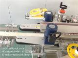 Máquina de rotulagem automática da selagem da caixa plástica do canto da caixa