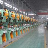 A tonelada J23-10 pode potência mecânica operada da máquina da imprensa de perfurador da máquina de perfuração