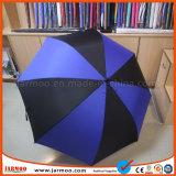 Parapluies de la meilleure qualité de golf estampés par logo durable à la mode