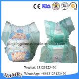 Tecidos descartáveis macios secos do bebê do baixo custo com a faixa elástica grande