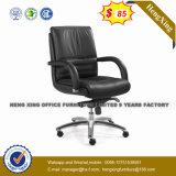 Reunión de cuero de estructura en cromo Silla de oficina (HX-AC025C)