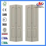 Дверь складчатости Bifold двери 32 дюймов ровная белая малая