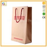 Напечатанные бумажные хозяйственные сумки (OEM-GL009)