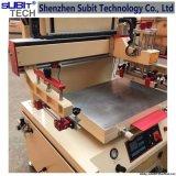 Máquina de impresión vertical en la pantalla