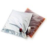 Vin d'huile d'aluminium Bag in box avec bec verseur appuyez sur