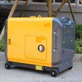 Le Bison 6kw insonorisées générateur diesel, Aircooled Générateur Diesel 7,5 kVA, Générateur Diesel 6.5Kw de type silencieux