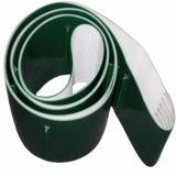 3mm Vert brillant lisses de la courroie du convoyeur en PVC Design avec crampons pour l'agriculture ascenseur convoyage Pb-G30