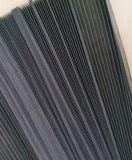 [فولدبل] [فيبرغلسّ] نافذة شامة, [17إكس15], [2كم] إرتفاع, [115غ], رماديّ أو لون أسود