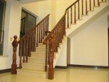 Лестница твердой древесины Teak Sapele для Railing