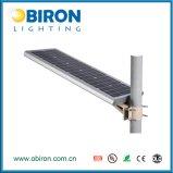 luz de rua solar completa do sensor de movimento de 20W IP65 Aio PIR