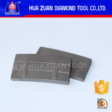 Segmento del diamante de corte del granito de la eficacia alta