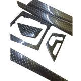 Carlike negro de fibra de carbono 3D coche Decoración de interiores