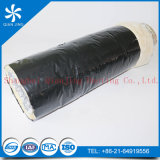 Schwarze PET Film-Fiberglas-Isolierungs-flexible Aluminiumleitung (Alu duct+PE Film)