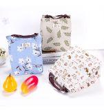 Sacchetti di drogheria pieghevoli riutilizzabili del sacchetto di acquisto di acquisto di grande capienza delle borse delle donne del sacchetto del Tote pieghevole di corsa