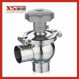 Manual de acero inoxidable de la válvula de desvío de Control de flujo