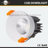 Riflettore Downlight della PANNOCCHIA di qualità 7W LED di progetto