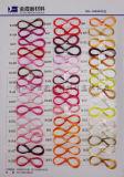 ドープ塗料によって染められるポリエステルヤーンの単繊維60d/4fによって引かれるヤーン
