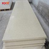 La dalle de comptoir Corian acrylique beige Surface solide